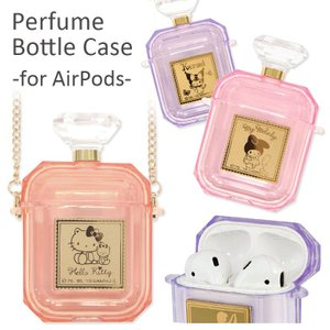 AirPods ケース ソフト サンリオ パフュームボトル 香水瓶型 Air Pods2 エアポッズ...