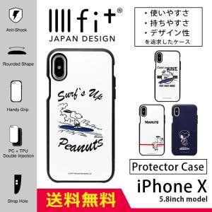 iPhoneXS ケース iPhoneX キャラクター イーフィット IIIIfit スヌーピー ピーナッツ PEANUTS アイフォンX アイフォンXS ケース iPhone X iPhone XS ケース|monomode0629