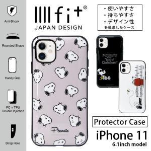 iphone11 ケース スヌーピー ピーナッツ イーッフィト IIIIfit  アイフォン 11 ケース iphone 11 ケース|monomode0629