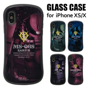 機動戦士ガンダム iPhone XS/X対応 ハイブリッドガラスケース      ・対応機種…iPh...
