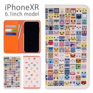 426b8864cc iPhone XR ケース 手帳型 ポケットモンスター ポケモンクエスト