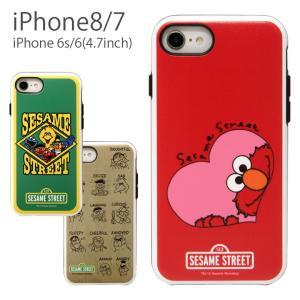 iphone8 ケース iPhone7 ハイブリッドケース セサミストリート スマホケース スマホ ...