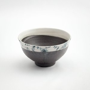 ごはん茶碗 米道具 ご飯 丼 日本製 おしゃれ 人気 陶器 和食器 黒 藍染 呉須 ごす 飯碗(ごす) monomono-shop
