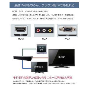 防犯カメラ 監視カメラ4台セット AHD 超高画質 137万画素 [録画機+屋外用/屋内用]  モーション検知 [防水 暗視 広角]レコーダーセット 遠隔監視|monosupply|13