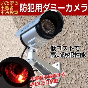 LED搭載ダミーカメラ 防犯カメラ/監視カメラ|monosupply