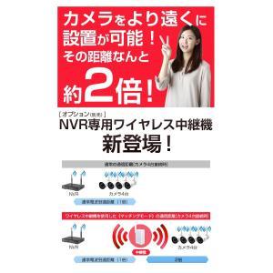 防犯カメラ ワイヤレス 屋内・屋外用 12インチディスプレイ一体型無線NVR +IPカメラ1〜3台セット リレーアタック対策 WiFi 監視カメラ 130/200万画素 H.265+ monosupply 14