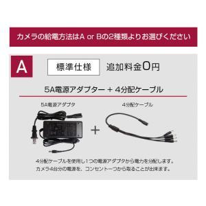 防犯カメラ 監視カメラ AHD 500万画素 カメラ1〜4台+ XVRハイブリッド録画機 屋内 屋外用 3年保証  防水 暗視|monosupply|19