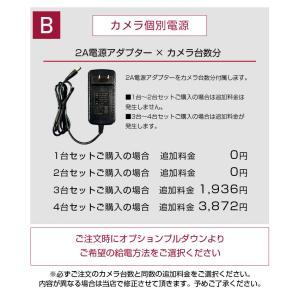 防犯カメラ 監視カメラ AHD 500万画素 カメラ1〜4台+ XVRハイブリッド録画機 屋内 屋外用 3年保証  防水 暗視|monosupply|20