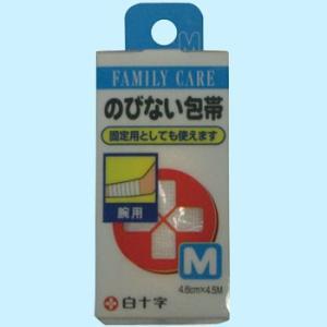 伸びない包帯 白十字 M 4.6cm×4.5m|monotaro