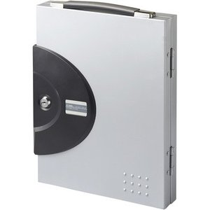 キーボックス カール事務器 CKB-16-S 16個用シルバー|monotaro