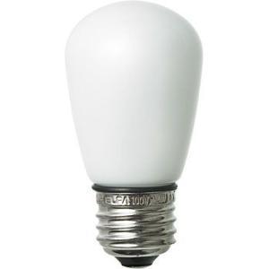 LED装飾電球 サイン球タイプ(防水設計) ELPA (朝日電器) LDS1L-G-GWP901 電球色相当|monotaro