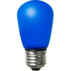 LED装飾電球 サイン球タイプ(防水設計) ELPA (朝日電器) LDS1B-G-GWP902 青|monotaro