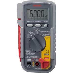 デジタルマルチメータ 三和電気計器 CD732 monotaro