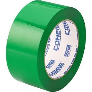 エバーセルOPPテープ No.820Cカラー 積水化学工業 No.820C 48×100M 緑|monotaro