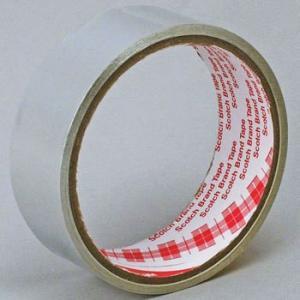 導電性アルミ箔テープ AL-50BT スリーエム(3M) AL-50BT 30mmx3m 30mmx3m|monotaro