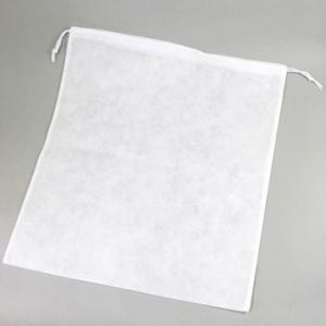 不織布巾着袋 薄口 HEIKO K53-60 幅530×高600mm|monotaro