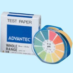 PH試験紙 ロールタイプ ADVANTEC 7011040|monotaro