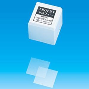 カバーグラス 正方形 (トロフィー) 松浪硝子 CT18189 18×18|monotaro