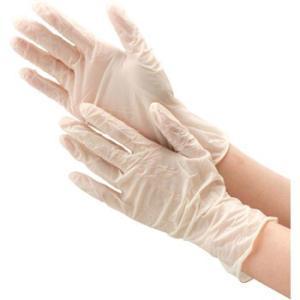 天然ゴム手袋(粉付き) モノタロウ 粉付:Lサイズ...