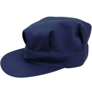 作業帽子 八角帽 シゲマツ ネイビー/LL|monotaro