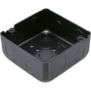 塗装中型四角アウトレットボックス浅型 パナソニック(Panasonic) DS3744B|monotaro