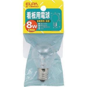 看板用電球 ELPA (朝日電器) G-18H|monotaro