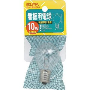 看板用電球 ELPA (朝日電器) G-19H|monotaro