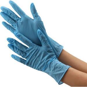 極薄ニトリルゴム手袋(粉なし) モノタロウ 粉無/L|monotaro
