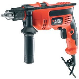 550W 13mm振動ドリル BLACK&DECKER KR554RE|monotaro