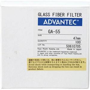 ガラスろ紙 GA-55 ADVANTEC 36261047