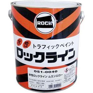路面表示用塗料 ロックライン (水性) ロックペイント 051-0040|monotaro
