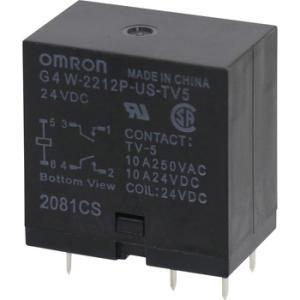 パワーリレー G4W オムロン(omron) G4W-2212P-US-TV5 DC24 G4W 2070H monotaro
