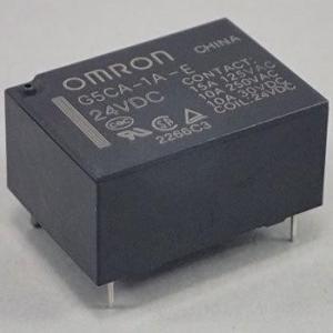 パワーリレー G5CA オムロン(omron) G5CA-1A-E DC24