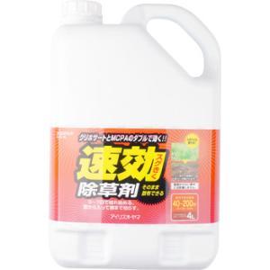 速効除草剤 アイリスオーヤマ SJS-4L 4L|monotaro