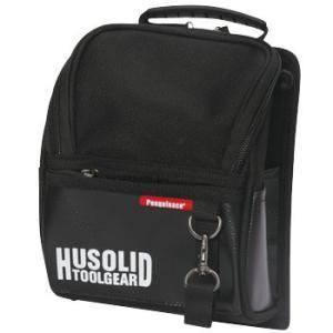 ヒューソリッド ツールギア フタ付き腰袋 ペンギンエース HT-005 L