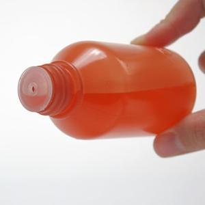 穴栓付外用瓶(丸型) ケーエム化学 茶/100cc 茶/100cc|monotaro