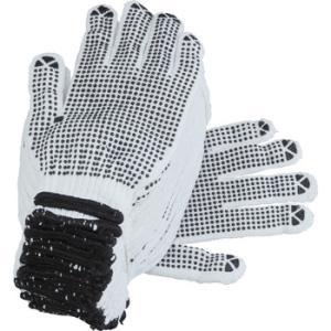 [LL] 手袋(滑り止め付・黒/12双) エスコ EA354A-48|monotaro