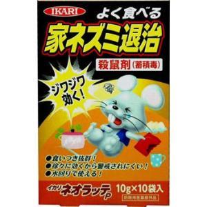 ネオラッテP イカリ消毒 10g×10|monotaro