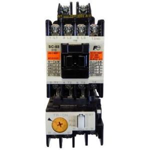 標準形電磁開閉器(ケースカバーなし) 富士電機 SW-03 シAC200V2.2KコAC200V 1a monotaro