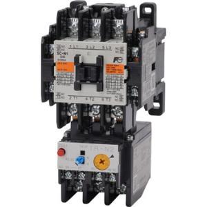 標準形電磁開閉器(ケースカバーなし) 富士電機 SW-N1 シAC200V 5.5K コAC200V 2a2b monotaro