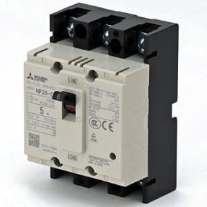 ノーヒューズ遮断器 NF-CSシリーズ(経済品) 三菱電機 NF30-CS 3P 5A WW CE規格対応品 白色 monotaro