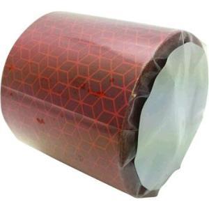 マイクロプリズム反射テープ リフレクサイト JV104E+ 赤/5m|monotaro