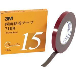 3M両面粘着テープ 7108AAD スリーエム(3M) 7108 AAD 15mm幅|monotaro