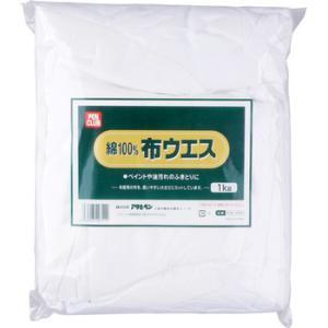 綿100%布ウエス アサヒペン PCW-1000|monotaro