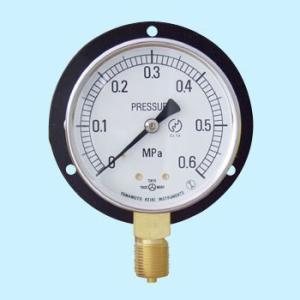 普通型圧力計(立形・つば付) 山本計器 BT 3/8G 75×0.6MPa monotaro