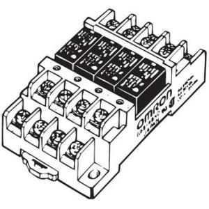 ターミナルリレー G6B-4 オムロン(omron) G6B-48BND DC12V 1a×4 高信頼形