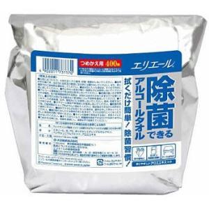 エリエール除菌できるアルコールタオル エリエール 733486 大容量詰替用|monotaro