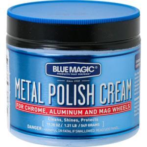 ブルーマジック メタルポリッシュクリーム ブルーマジック(BLUE MAGIC) BM500 550g(19.38oz)|monotaro