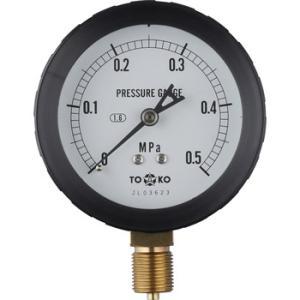 一般圧力計A形Φ75(簡易防滴型) TOKO(東洋計器興業) BL-AT3/8G 75×0.5MPa(簡易防滴形) monotaro