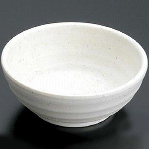 マイン メラミン食器 メラミンウェア 小鉢 大 白 M11-117